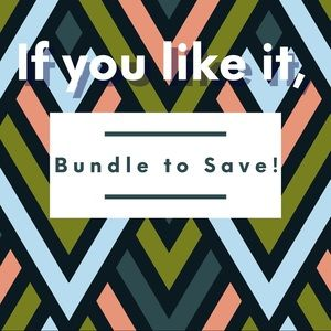 Bundle items you like for a better deal!